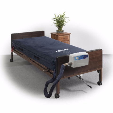 "Med-Aire Assure 5"" Air with 3"" Foam Base Alternating Pressure and Low Air Loss Mattress System"