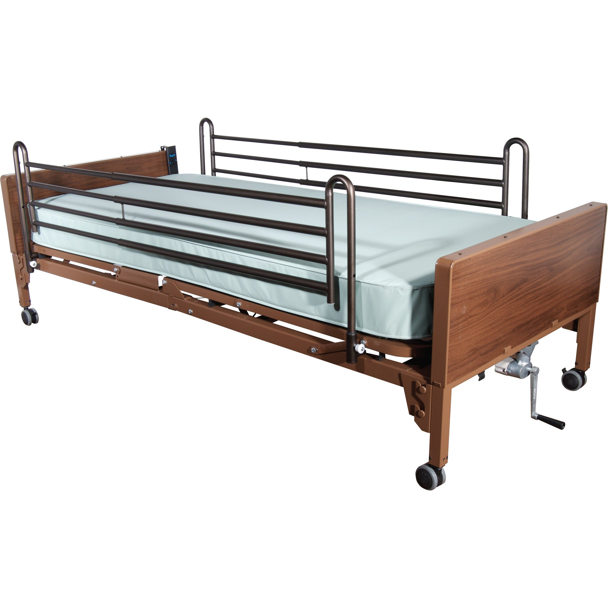 Full Length Hospital Side Bed Rail By Drive Medical Csa