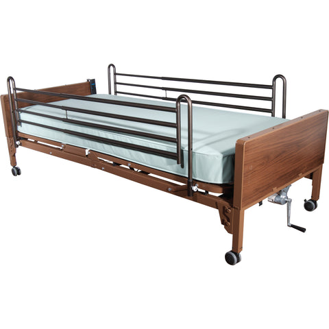 Full Length Hospital Side Bed Rail by Drive Medical