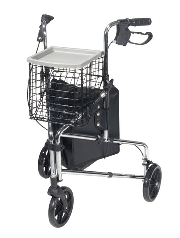 Winnie Deluxe 3 Wheel Walker Rollator - CSA Medical Supply