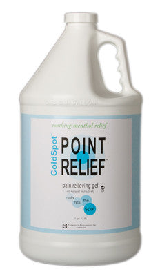 Point Relief ColdSpot Topical Lotion Gel Pump