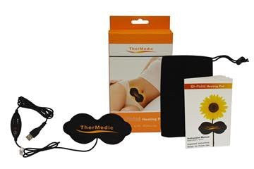 Qi-Point Heating Pad with AC Adapter