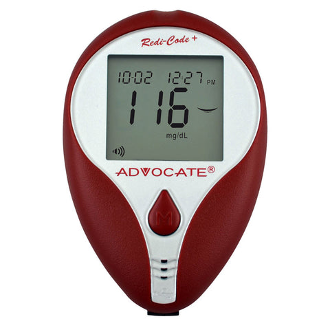 Advocate Redi-Code Plus Speaking Blood Glucose Meter - CSA Medical Supply