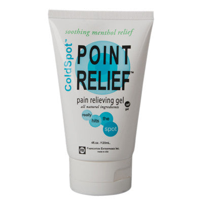 Point Relief ColdSpot Topical Lotion Gel Tube