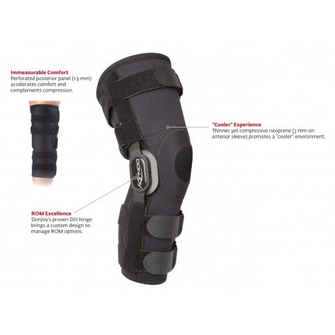 Donjoy Playmaker II Hinged Knee Brace