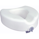 Drive Medical Premium Elongated Raised Toilet Seat