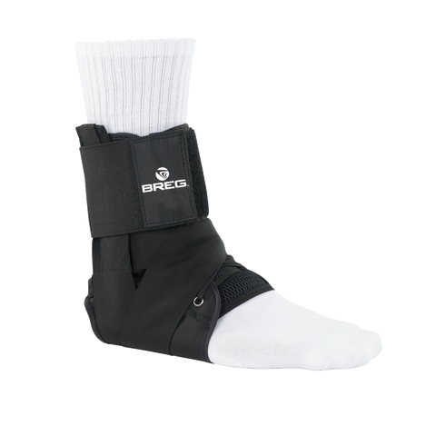 Breg Lace Up Ankle Brace with Tibia Strap - CSA Medical Supply
