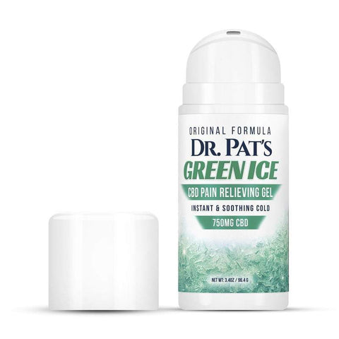 Dr. Pat's Green Ice CBD Pain Cream