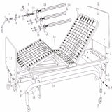 Manual LTC Bed Replacement Parts