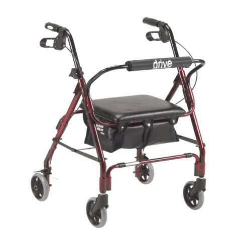 "Mimi Lite Deluxe Aluminum Rollator, 6"" Casters Replacement Parts"