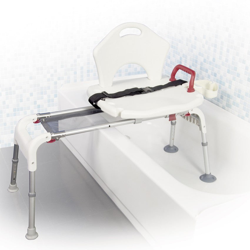 Folding Universal Sliding Transfer Bench by Drive Medical | CSA ...