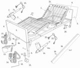 Semi Electric Bed Replacement Parts