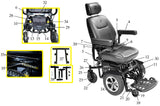 Trident Power Wheelchair Replacement Parts