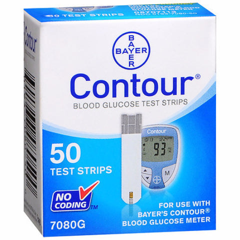 Contour Blood Glucose Test Strip - CSA Medical Supply