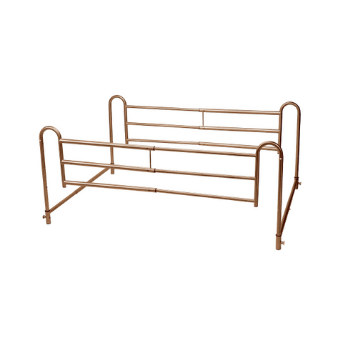 Tool Free Adjustable Length Home Style Bed Rail by Drive Medical