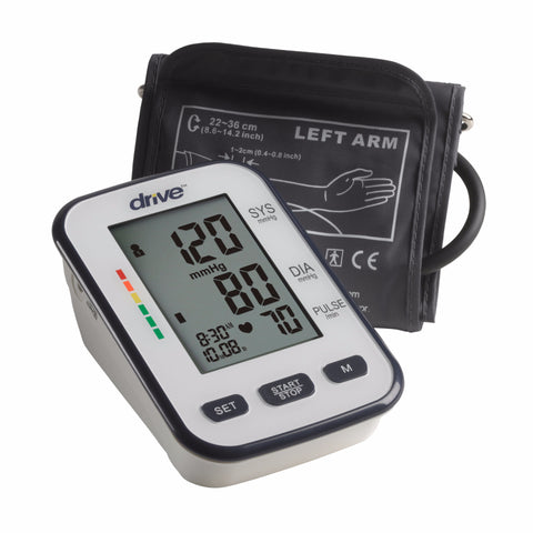Deluxe Automatic Blood Pressure Monitor by Drive Medical - CSA Medical Supply