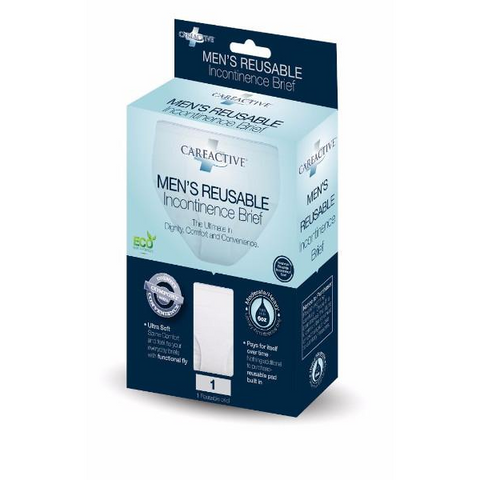 CareActive Men's Reusable Incontinence Brief