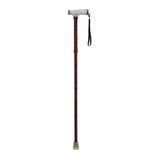 Folding Cane with Glow Gel Grip Handle by Drive Medical