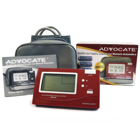 Advocate Arm Blood Pressure Monitor - CSA Medical Supply