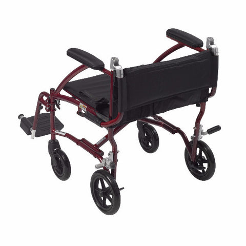 Drive Medical Fly Lite Ultra Lightweight Transport Wheelchair