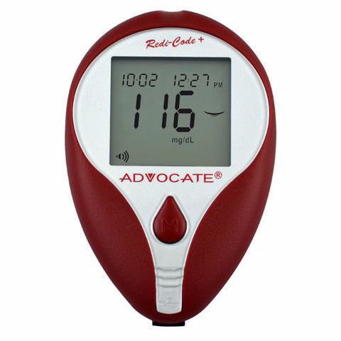 Advocate Redi-Code Plus Non-Speaking Blood Glucose Meter - CSA Medical Supply