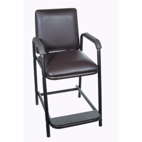 High Hip Chair with Padded Seat - CSA Medical Supply