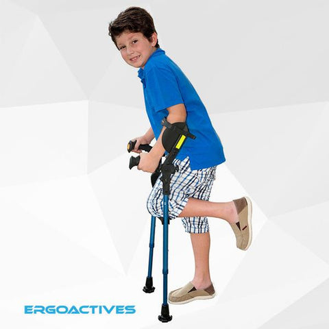 Ergobaum Junior Crutches - CSA Medical Supply