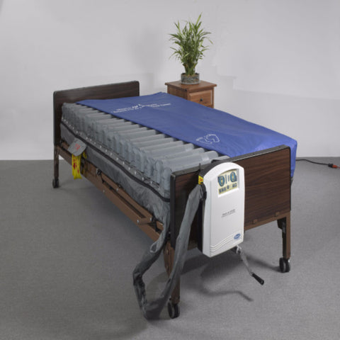 "Masonair 10"" Low Air Mattress and Alternating Pressure Mattress System - CSA Medical Supply"