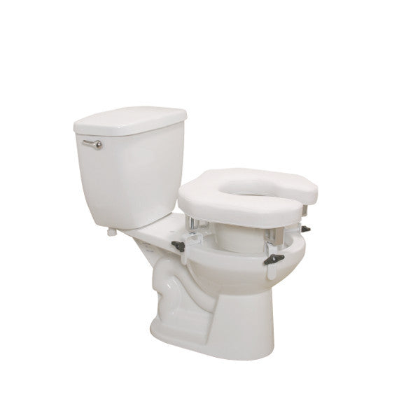 Drive Medical Padded Raised Toilet Seat Riser Csa