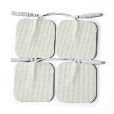 Replacement Pigtail Electrode Pads For Tens Unit/Electronic Muscle Stimulator - CSA Medical Supply