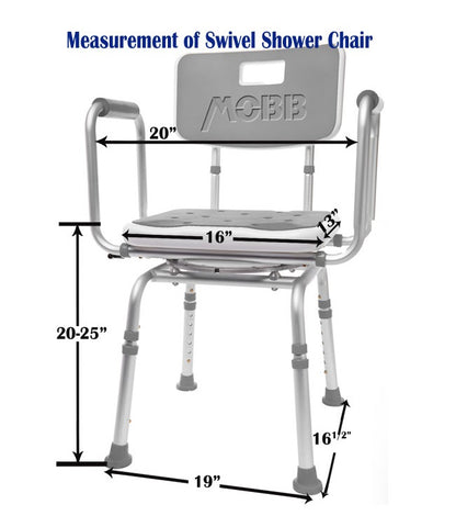 Swivel Shower Chair 2.0
