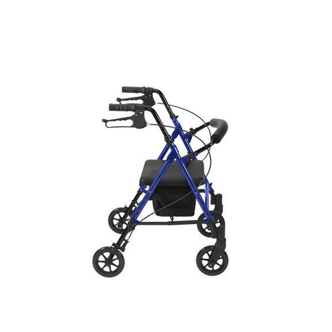 "Adjustable Height Rollator with 6"" Wheels by Drive Medical - CSA Medical Supply"