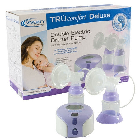 TRÚ comfort Deluxe Double Electric Breast Pump