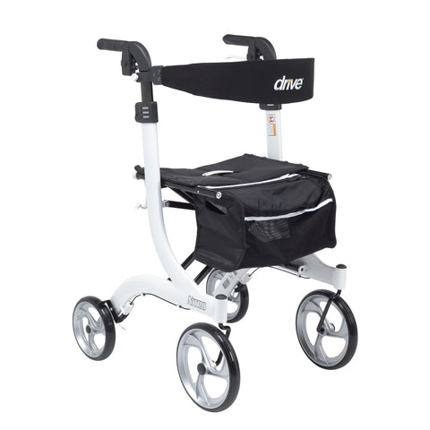 "Nitro Euro Style Tall Walker Rollator 10"" Casters - CSA Medical Supply"