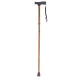Soft Handle Folding Cane by Drive Medical