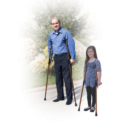 Universal Folding Crutch by Drive Medical