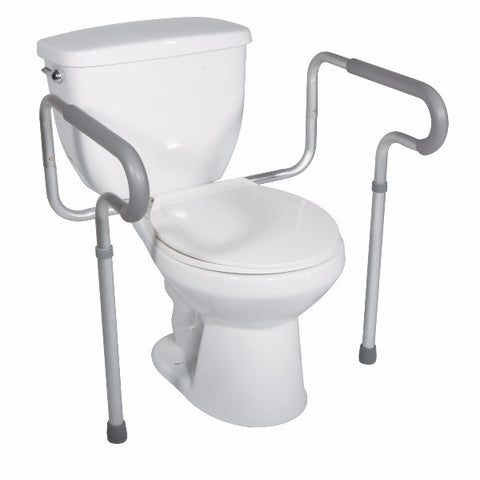 Toilet Safety Frame with Padded Armrests - CSA Medical Supply