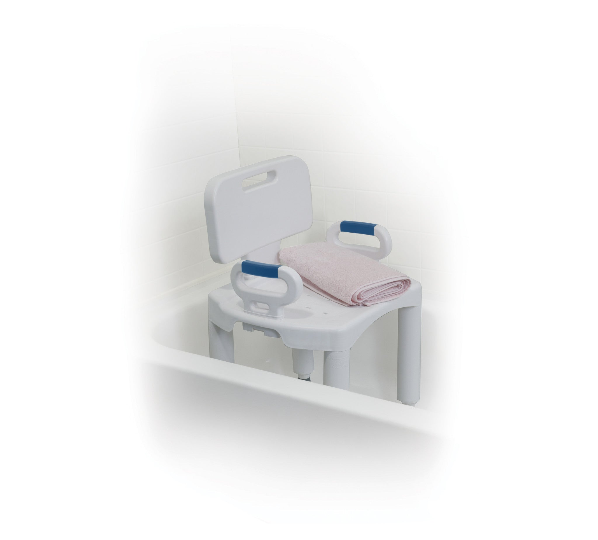Drive Medical Premium Series Shower Chair with Back and Arms | CSA ...