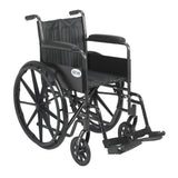 Silver Sport 2 Wheelchair, Non Removable Fixed Arms