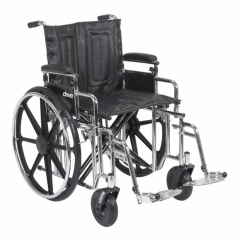 Sentra Extra Heavy Duty Wheelchair - CSA Medical Supply