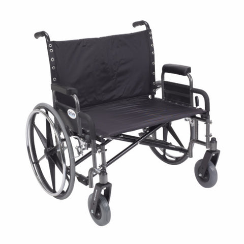 Sentra Extra Wide Heavy Duty Wheelchair - CSA Medical Supply