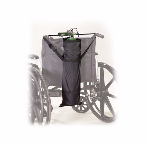 "Drive Medical Wheelchair Carry Pouch for ""D"" and ""E"" Oxygen Cylinders - CSA Medical Supply"