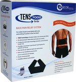 TENS 7000 To Go-Digital Device With Back Brace
