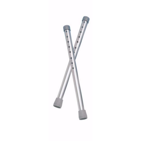 "Drive Medical Tall Walker Extension Legs (Adds 4"") - CSA Medical Supply"