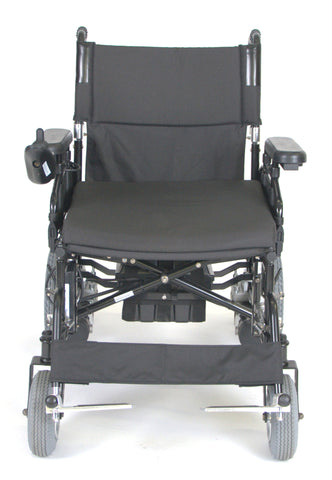 "Wildcat 450 Heavy Duty Folding Power Wheelchair 24"" Seat"