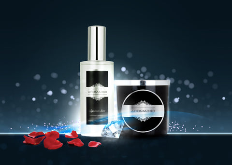 Signature Candle and Sprays by Aroma360