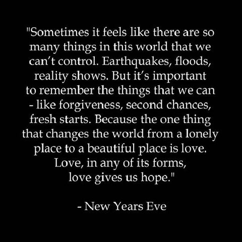 new years words