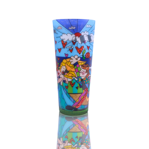 "16"" Romero Britto® Candle ""Follow Me"""