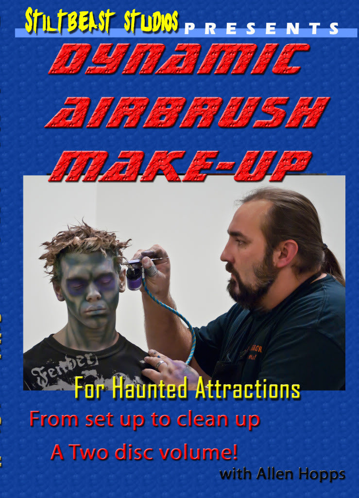 Dynamic Airbrush Make-Up DVD