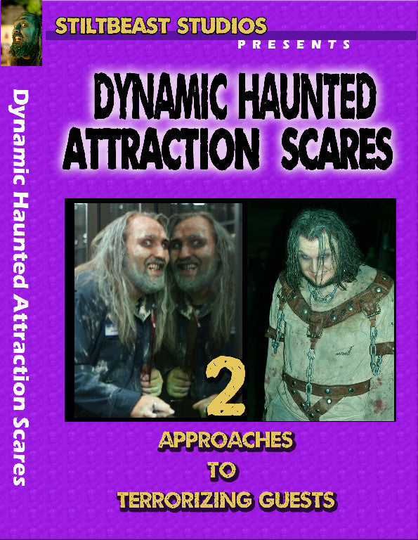 Dynamic Haunted Attraction Scares DVD